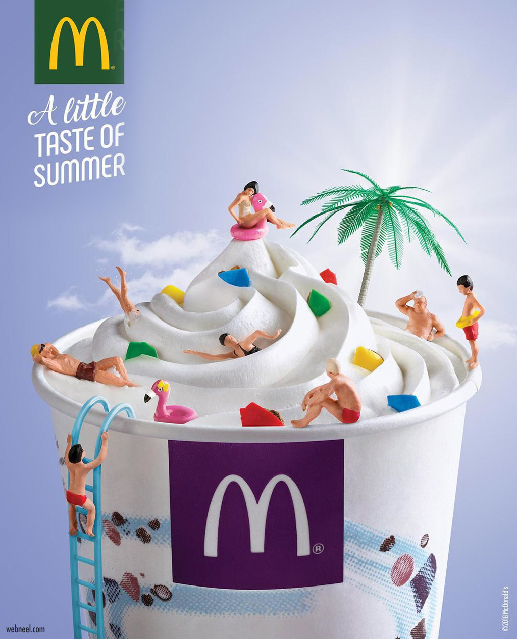 print ads design ice cream mcdonalds by glacemcflurry