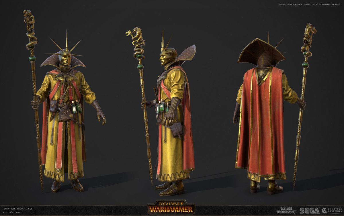 3d model character design balthasar