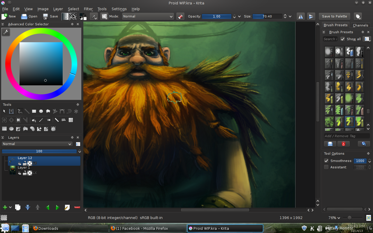 best free painting software krita