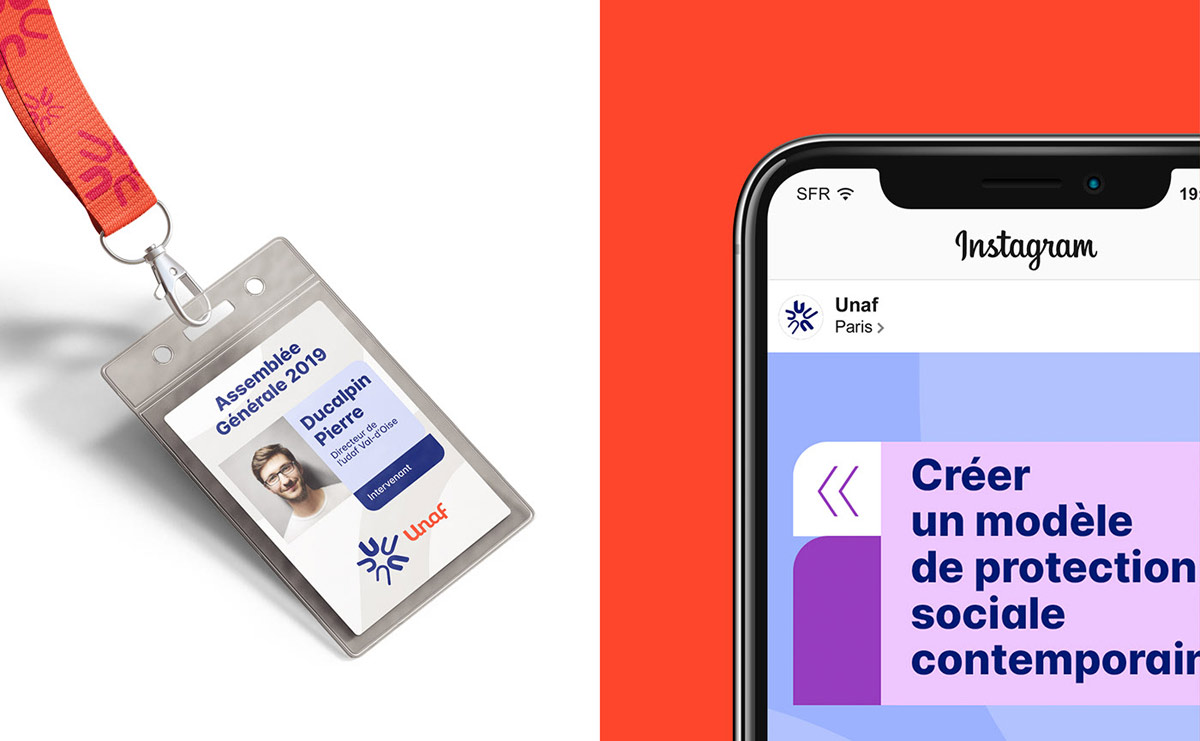 branding design idcard tag unaf