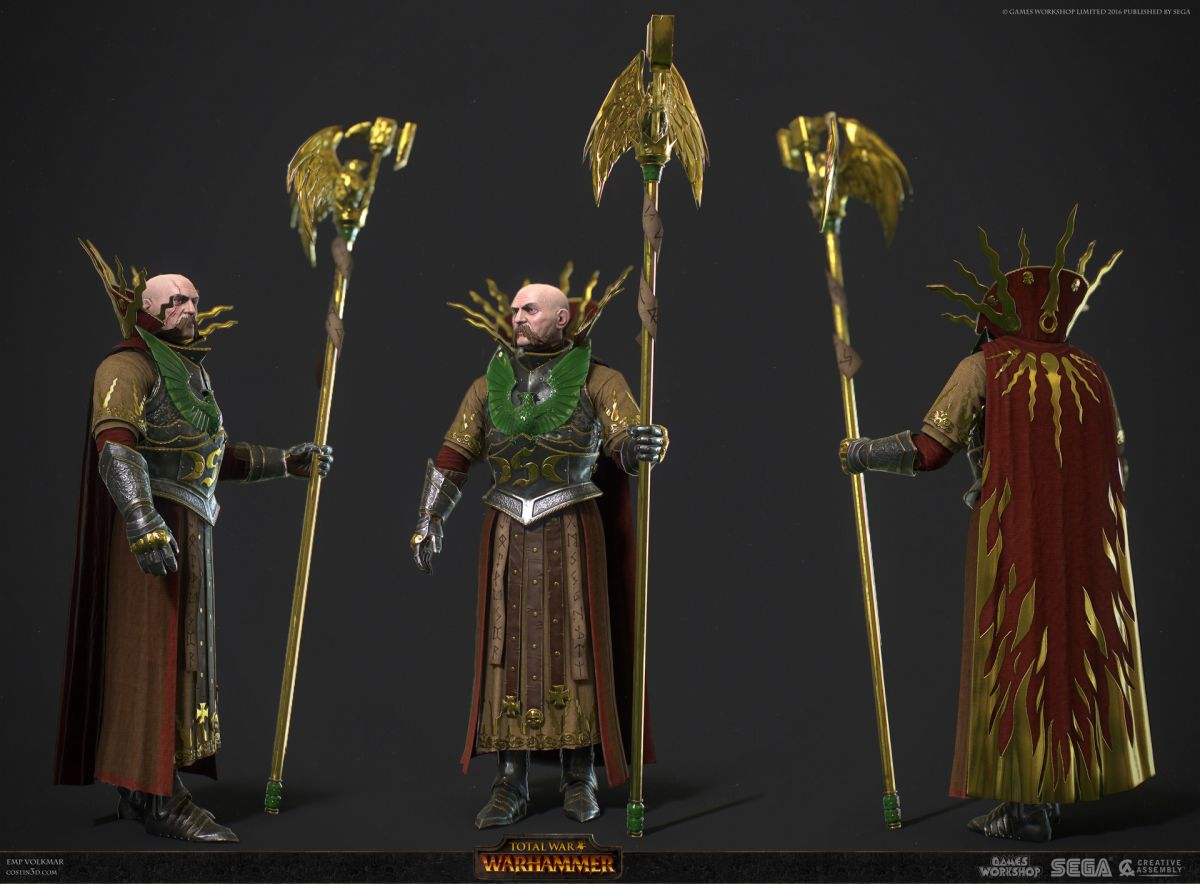 3d model character design volkmar