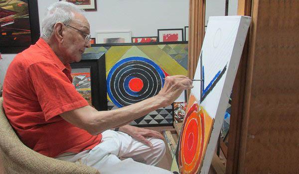 profile studio famous indian artist syed haider raza