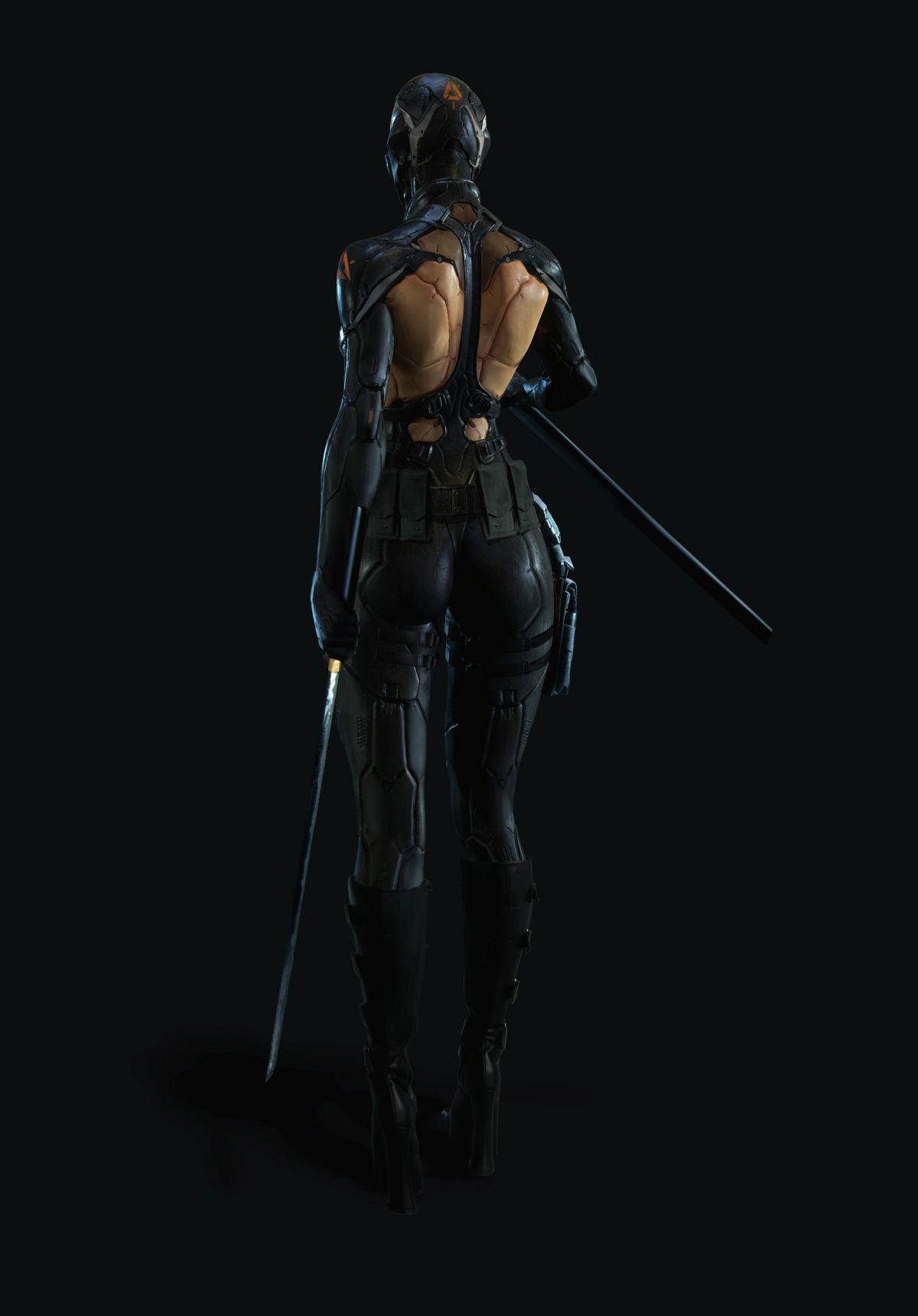 3d model character design fighter back