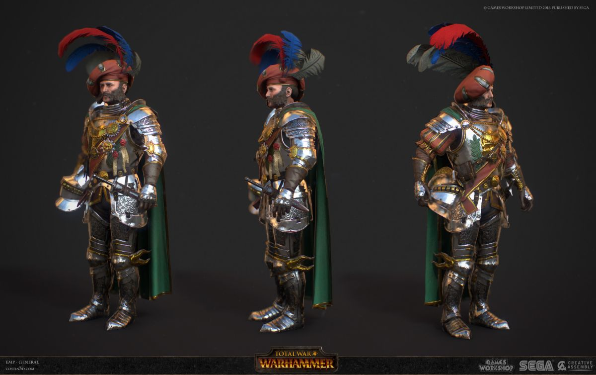 3d model character design generals
