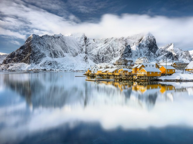 shine light photo lake