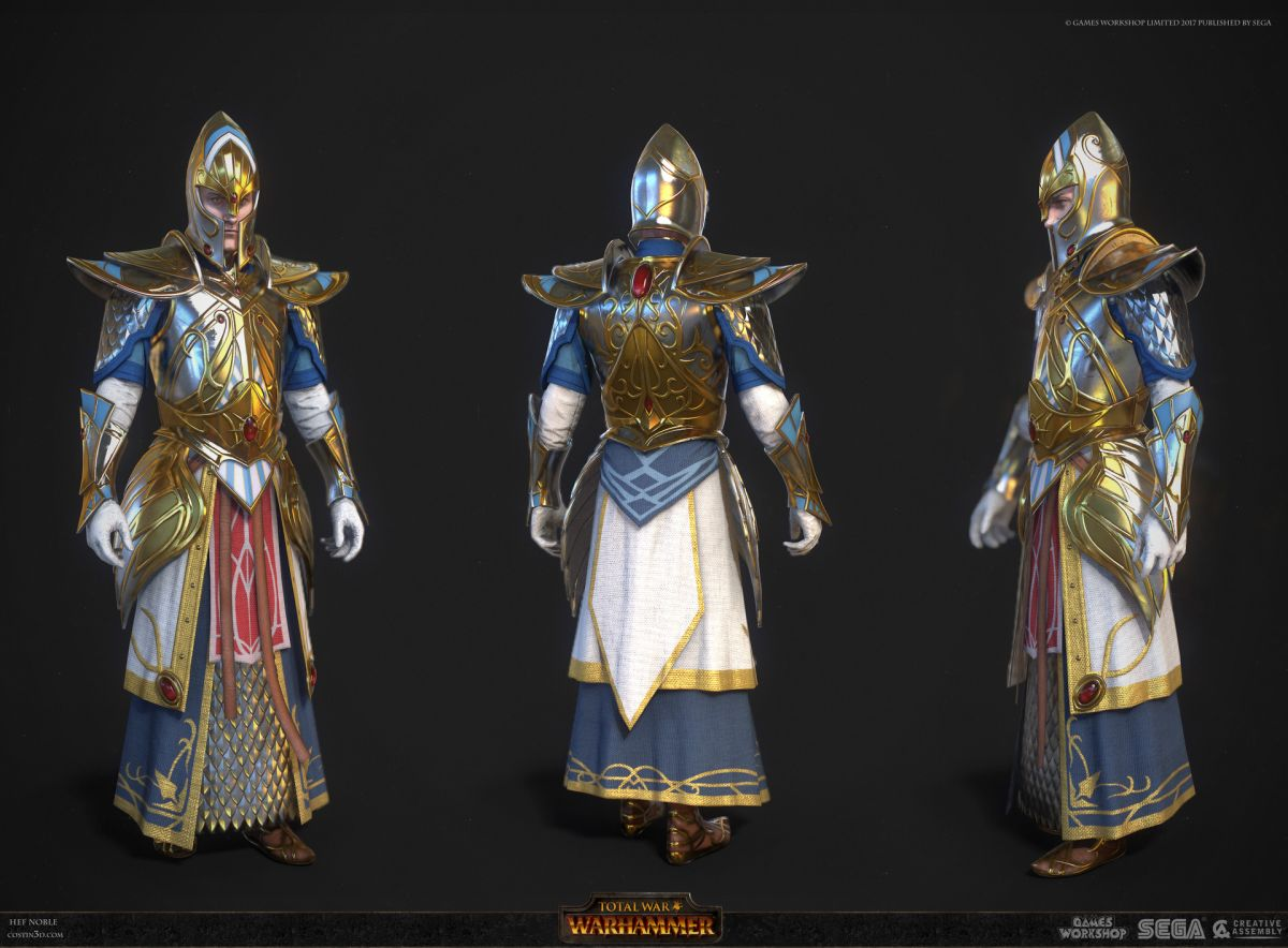 3d model character design noble