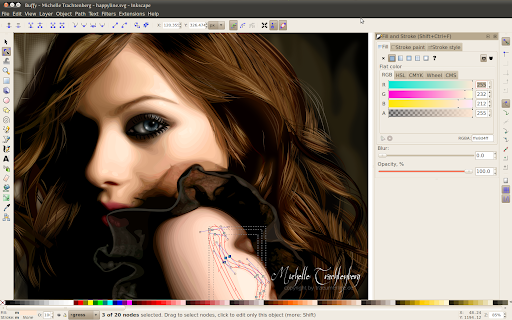 best free painting software inkscape