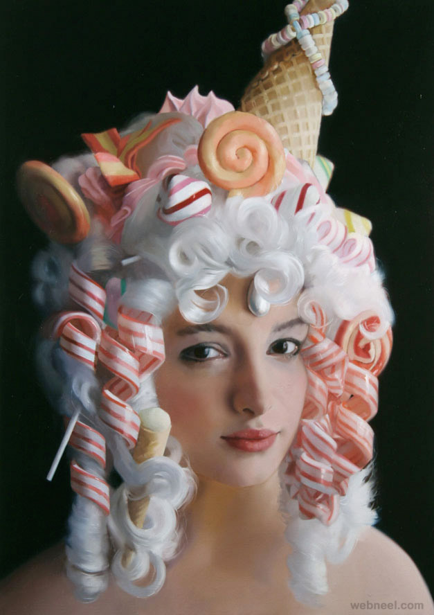 candy ice cream paintings