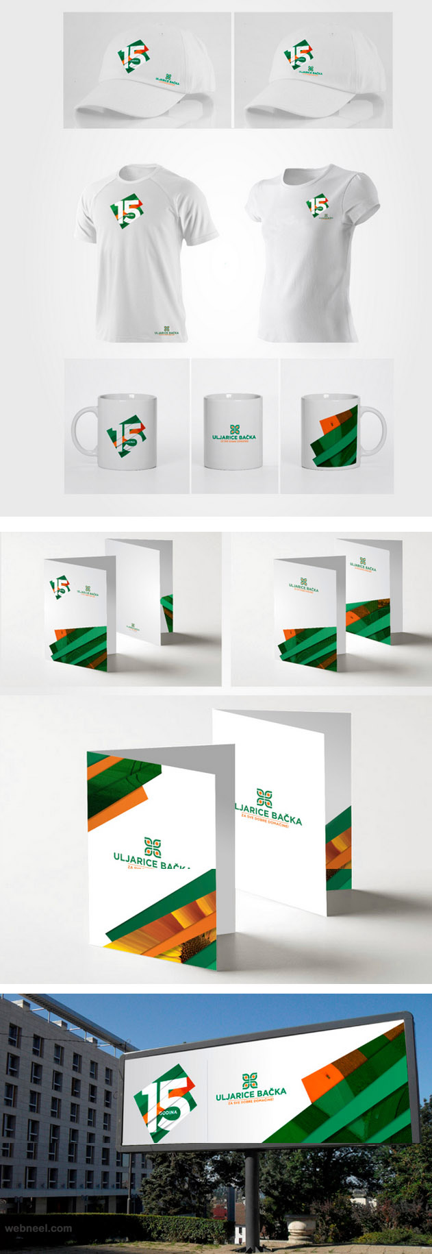 sunny agriculture branding identity design
