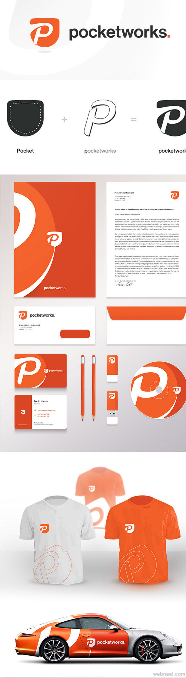 pocketworks branding identity design