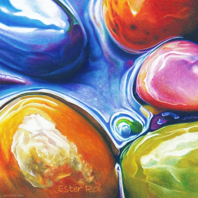 pebble stones painting by ester roi