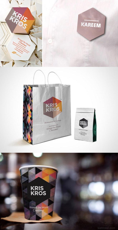 kriskros brilliant branding identity design