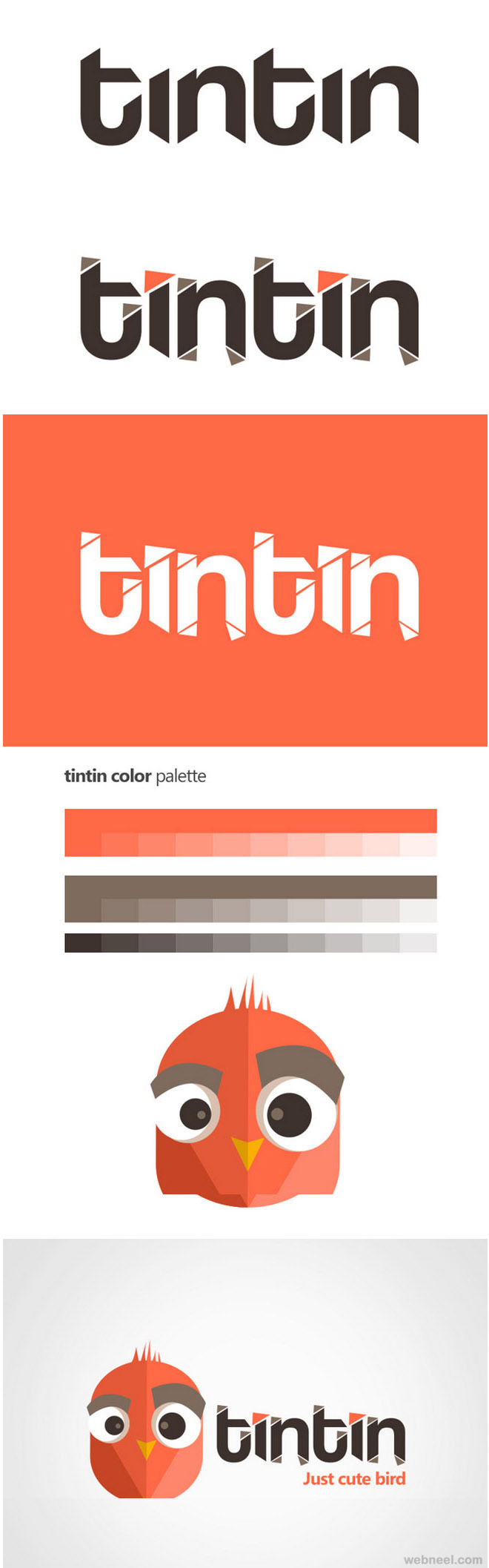 tintin best branding design by nimbus