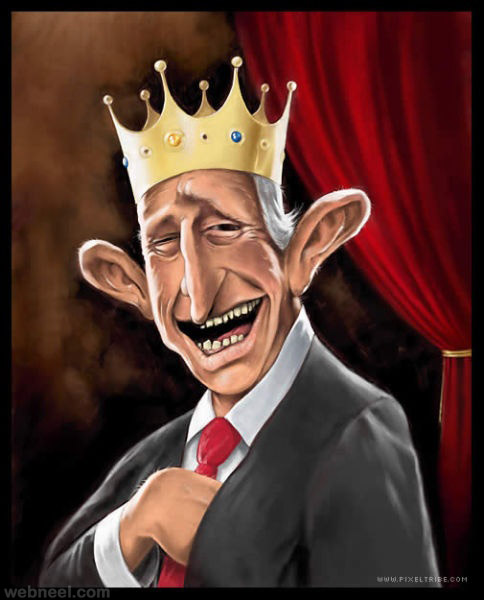 prince charles caricature