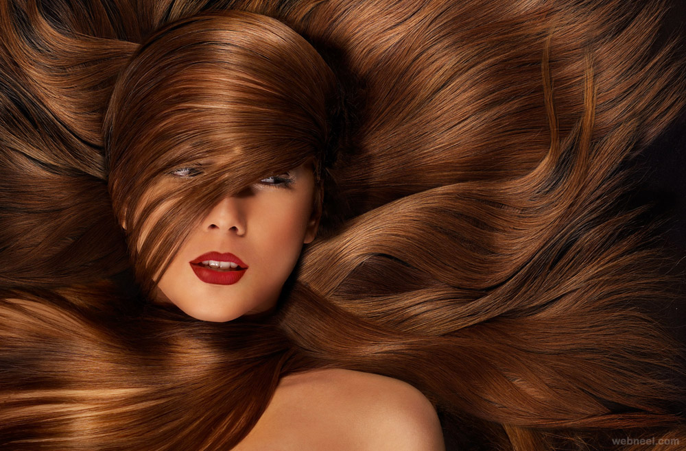hair swirls creative photography by iain crawford