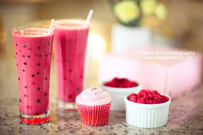 juice food photography