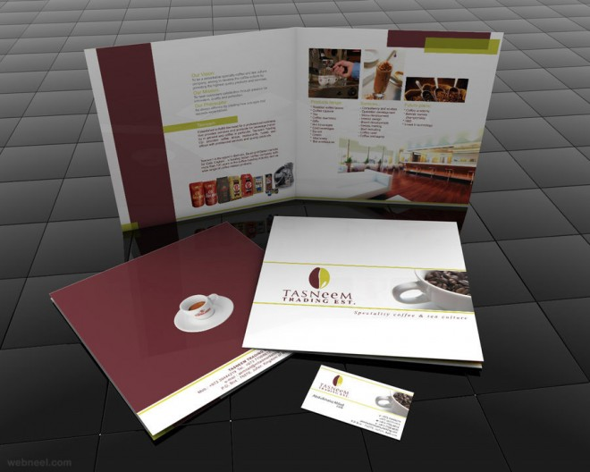 restaurant brochure design