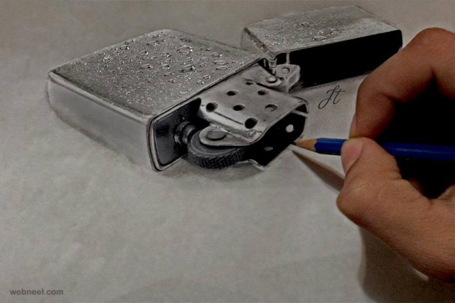realistic pencil drawing by jatinder singh