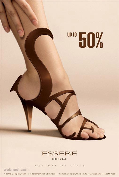sale offers heels creative advertising