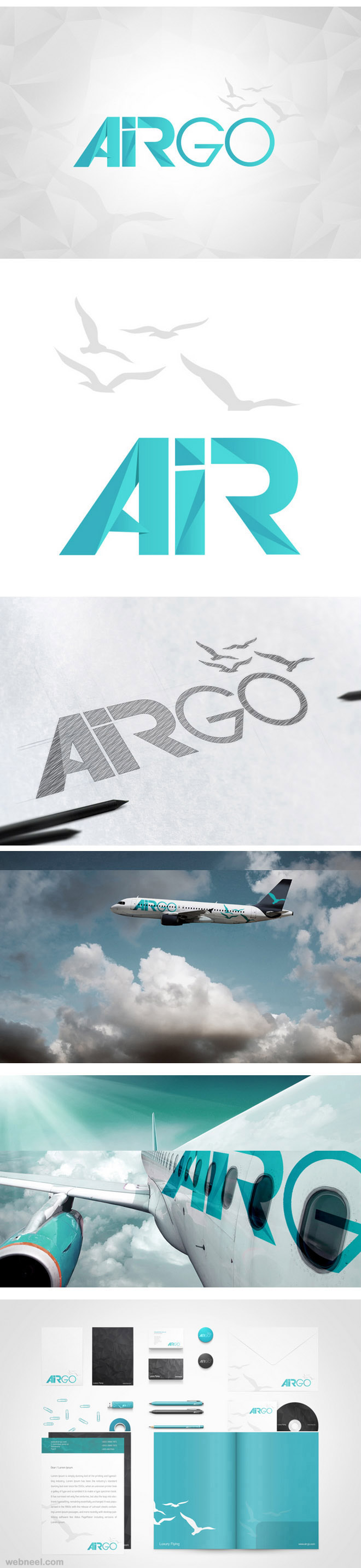 aviation best branding design
