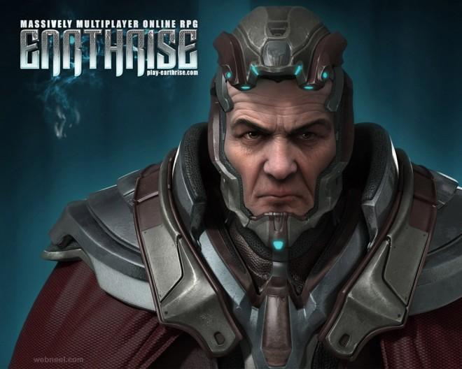 hero cg character by tsvetomir georgiev