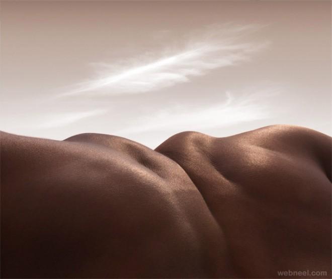 headless horizon body photography by carl warner
