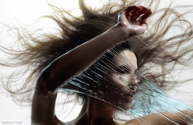 makeup creative photography by iain crawford