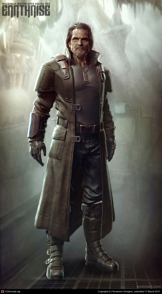 man cg character by tsvetomir georgiev