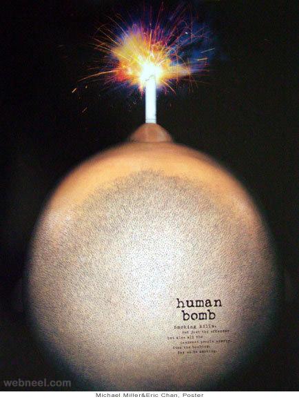 stop smoking human bomb