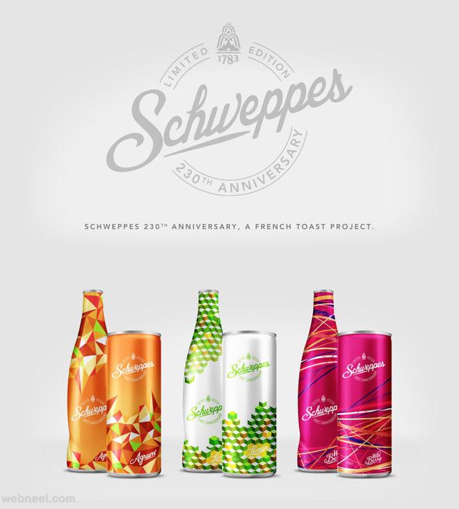 schweppes branding identity