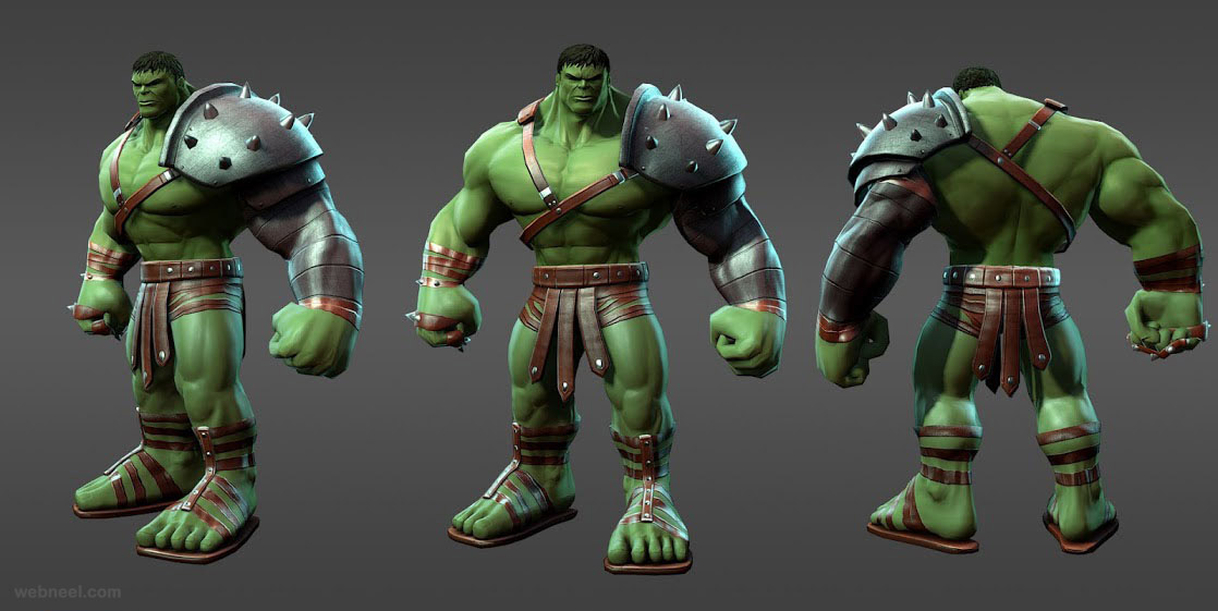 marvel heroes hulk planet hulk