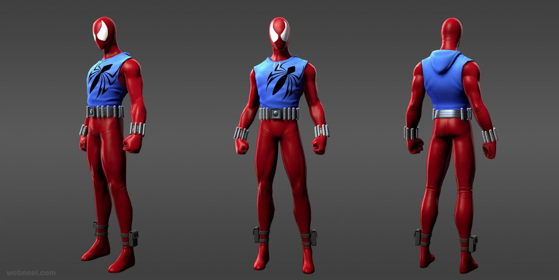 marvel super heroes spider man