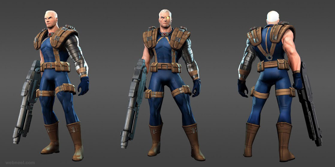 marvel super hero cable