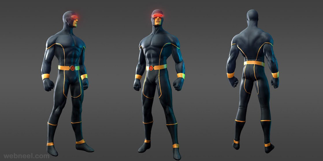marvel heroes cyclops astonishing xmen