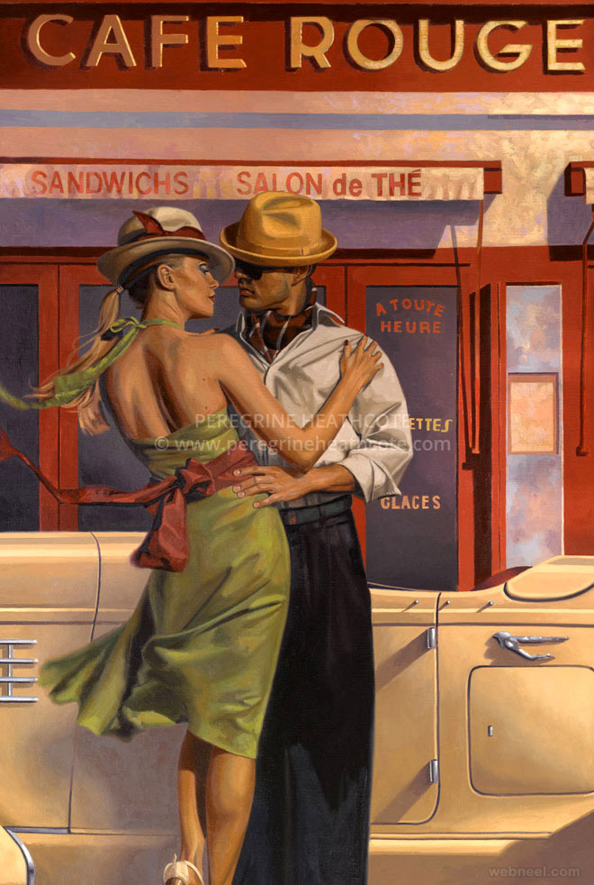 old paintings by peregrine heathcote