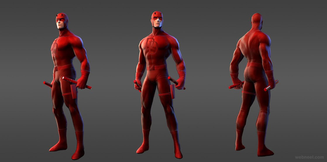 marvel heroes daredevil