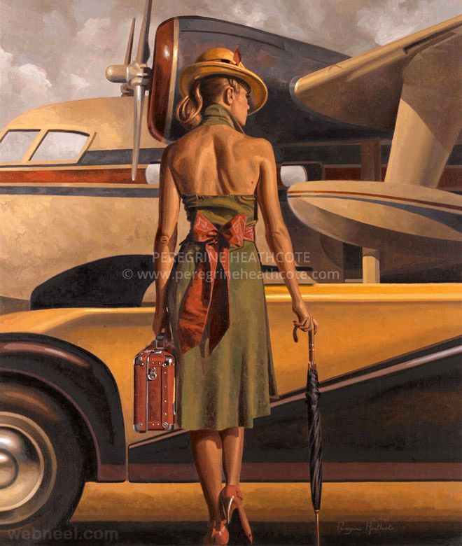 paintings by peregrine heathcote