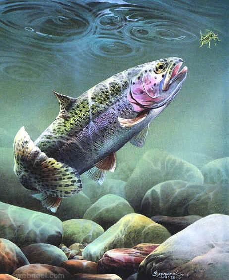 underwater paintings by spencer