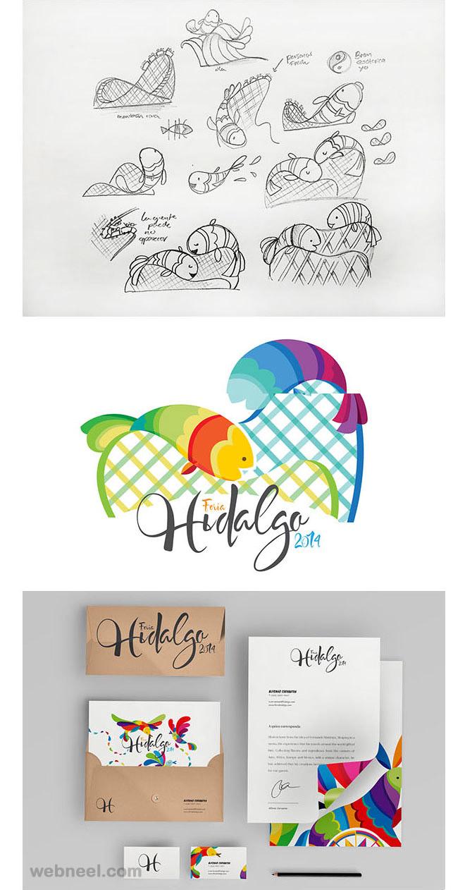 feria branding identity design