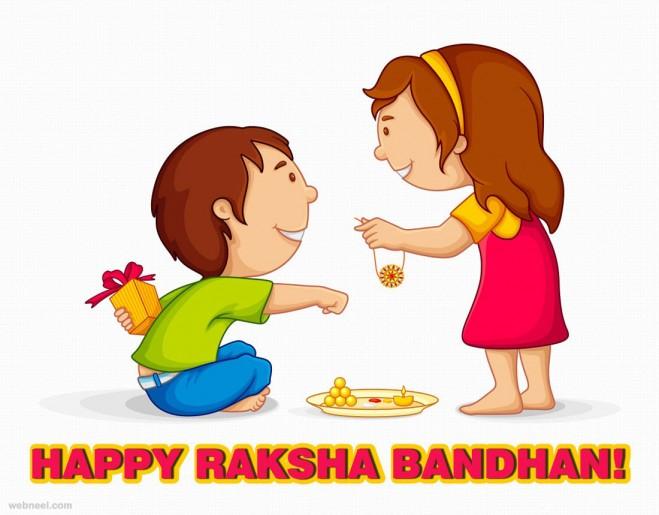 raksha bandhan greetings images
