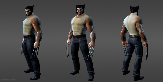 marvel heros wolverine