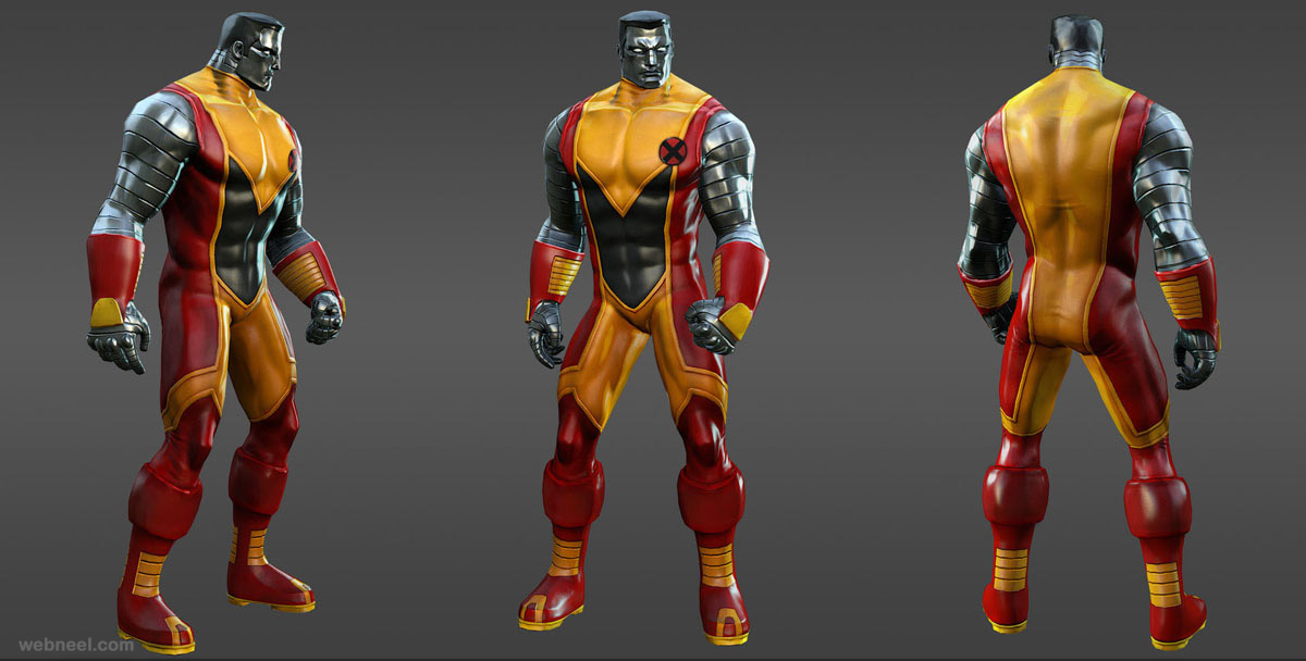 marvel heros colossus