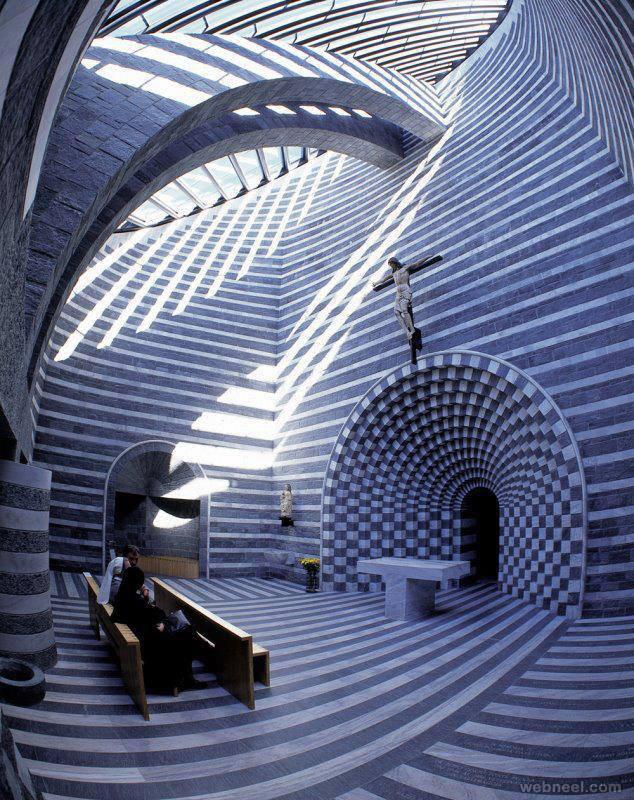 church interior design