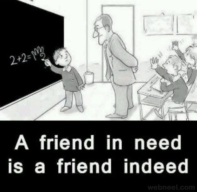 funny classroom friends