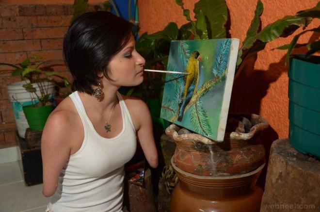 zuly sanguino a colombian artist