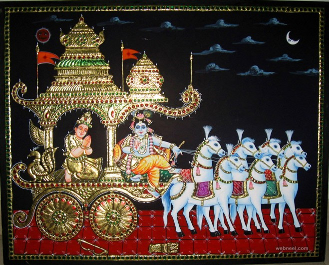 tanjore painting janaki subramanian