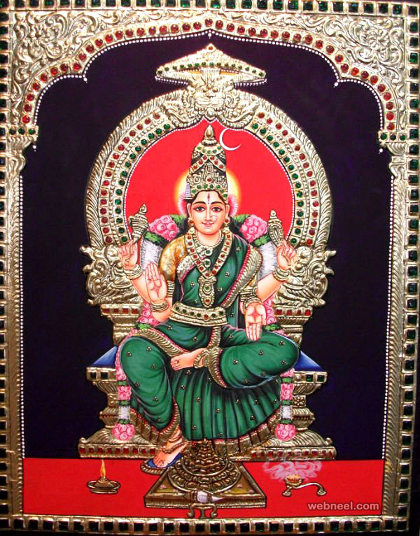 25 Beautiful Tanjore Paintings - Traditional Indian