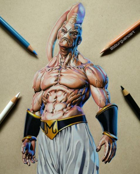 color pencil drawing by borja burgueno moreno