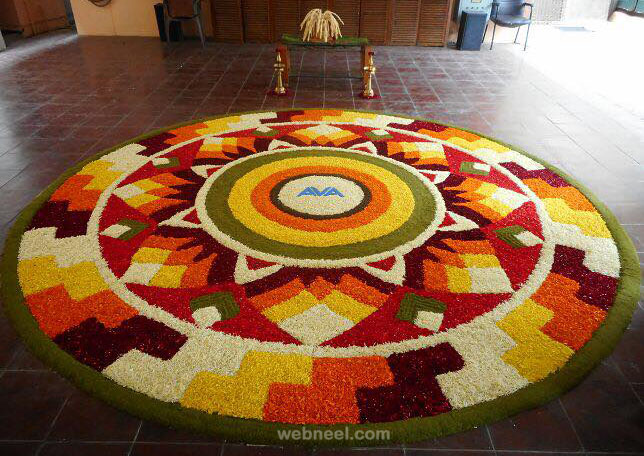 pookalam design by avacare