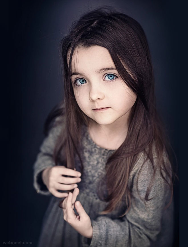 portrait photography beautiful kid by sam